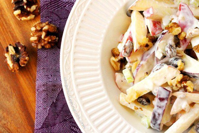 Crispy Apple Walnut Salad