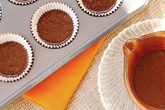 Cupcake Batter in Paper Liners