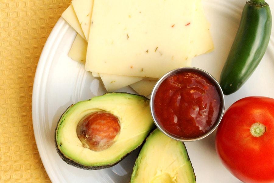Bacon Avocado and Tomato Quesadilla | Coupon Clipping Cook