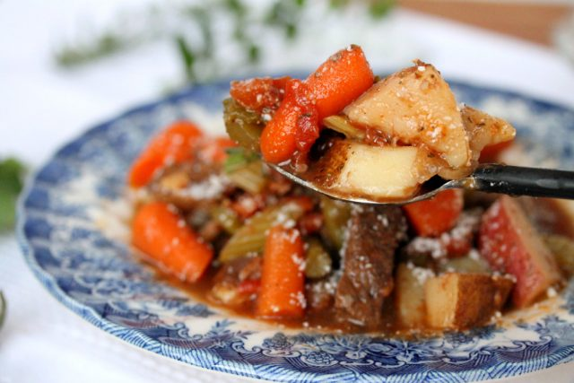 Beef Stew with Vegetables and Potatoes