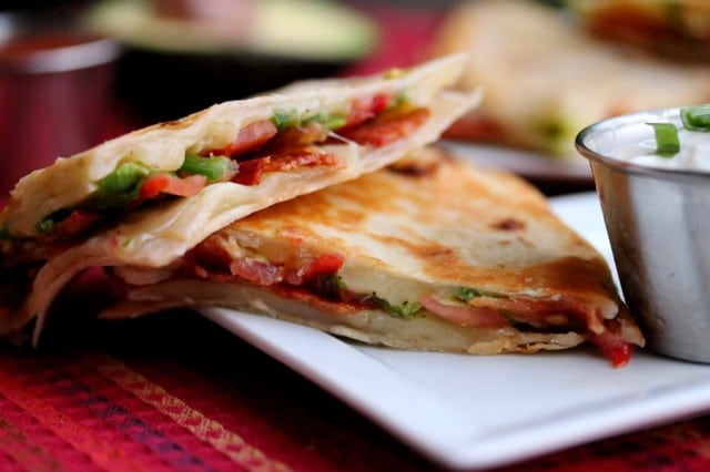 Bacon Avocado Quesadilla