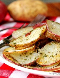 Herb and Parmesan Potatoes