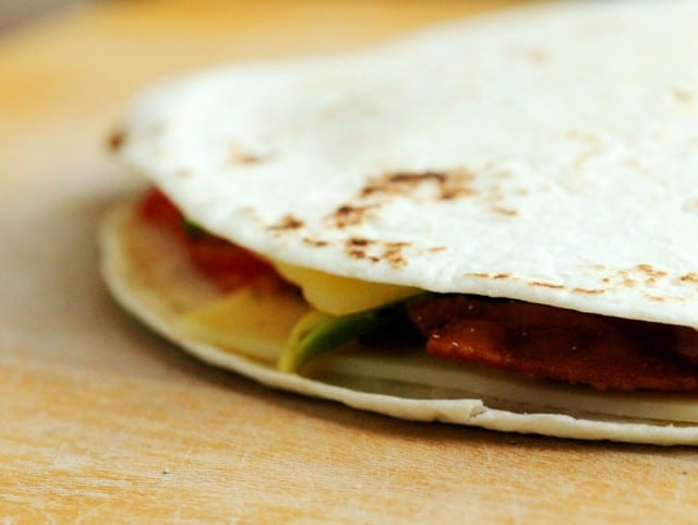 Flour Tortilla Quesadilla