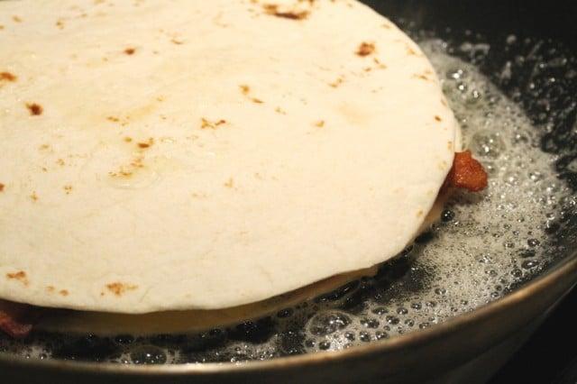 Quesadilla in Pan
