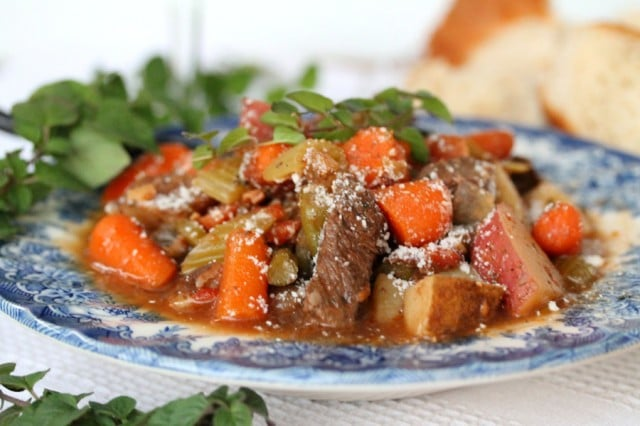 Beef Stew with Wine