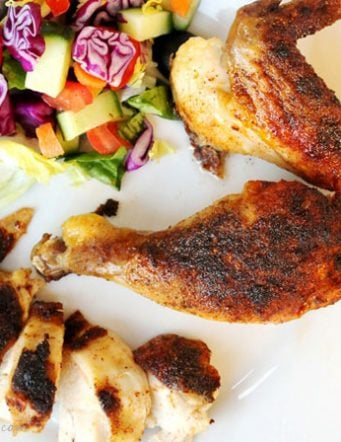 Roasted Blackened Chicken