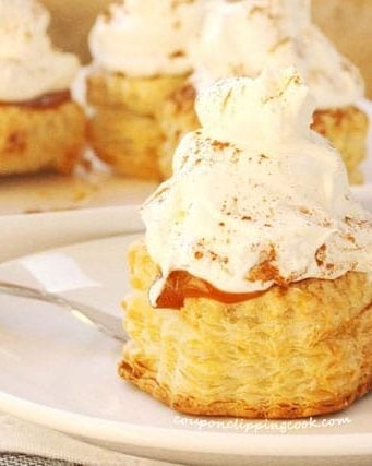 Pumpkin Pudding Puff Pastry Desserts