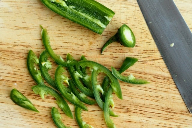 Sliced Jalapeno