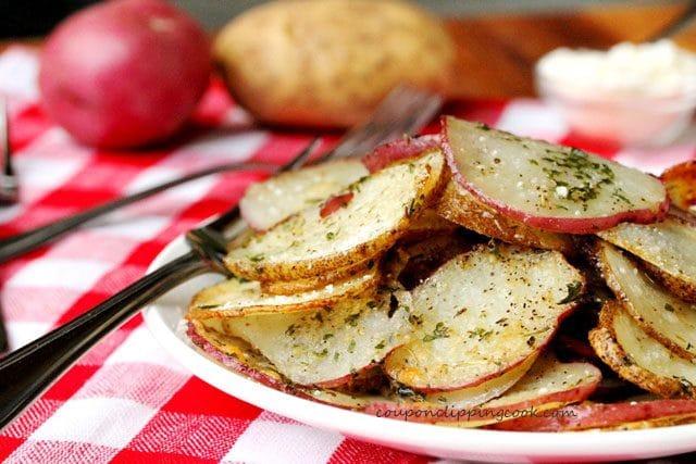Herb Parmesan Potatoes