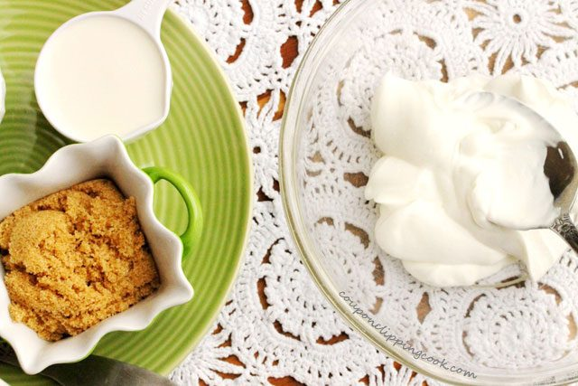 Brown Sugar Sour Cream