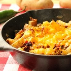 Cheesy Jalapeno Potatoes