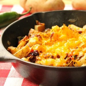 Cheesy Jalapeno Potatoes