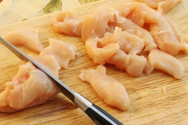 Cut Chicken Breast