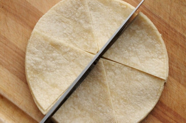Cut Tortillas