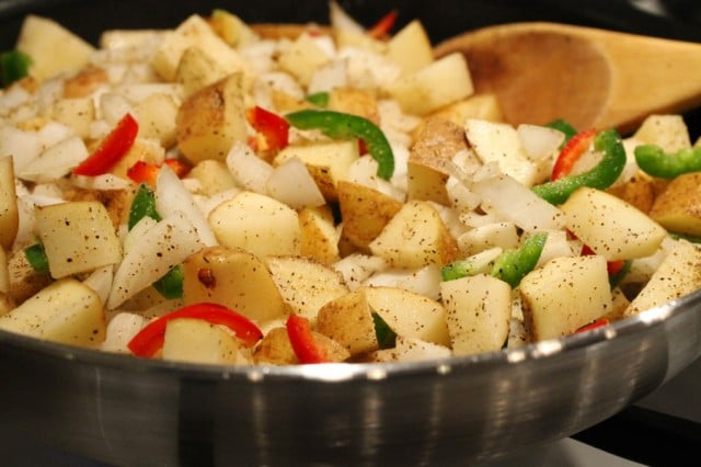 Cook Potatoes in Skillet