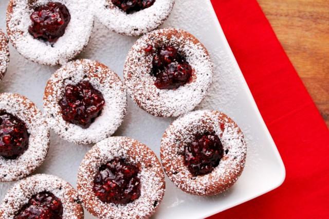 Caramel Raspberry Brownies