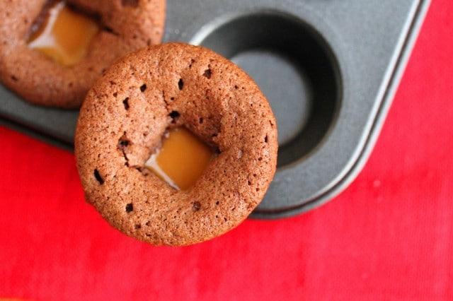 Caramel in Brownie