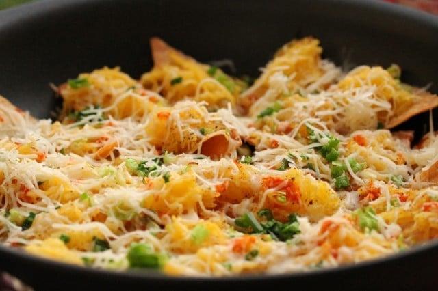 Spaghetti Squash Nachos