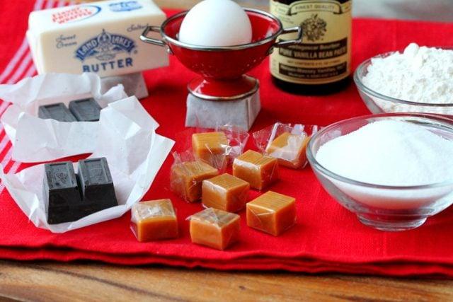 Raspberry Brownie Ingredients