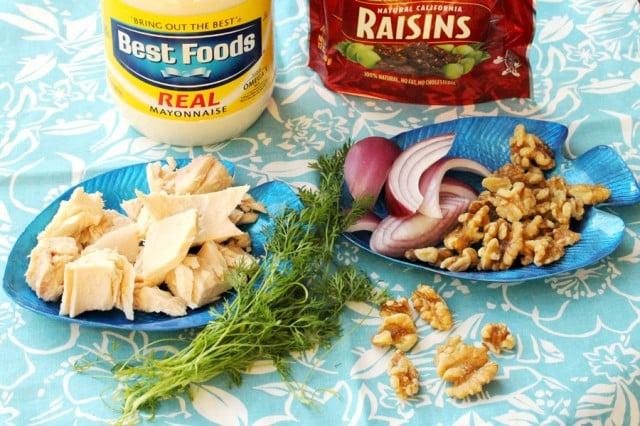 Tuna Salad Ingredients