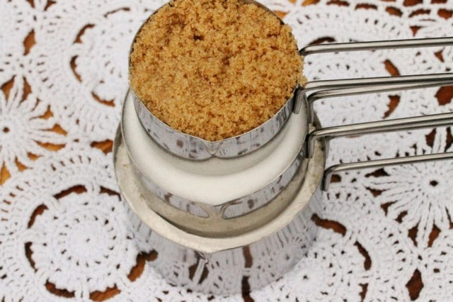 Brown Sugar in Cup