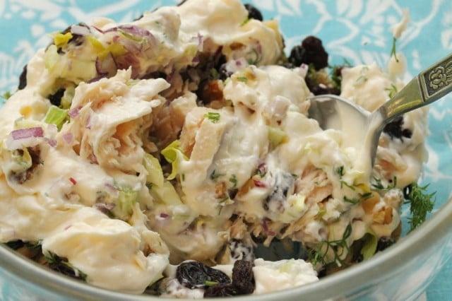 Tuna Salad in Bowl