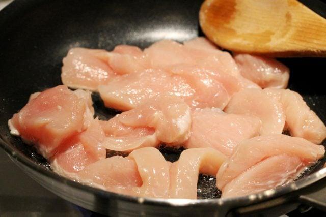 Cook Chicken in Skillet