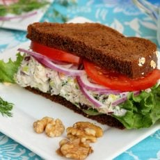 Tuna Salad with Raisins