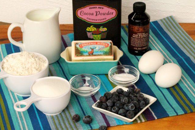 Chocolate Cupcake Ingredients