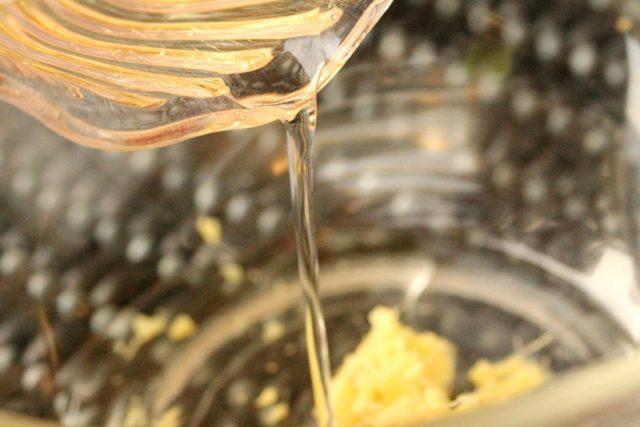 Add Rice Vinegar in Bowl