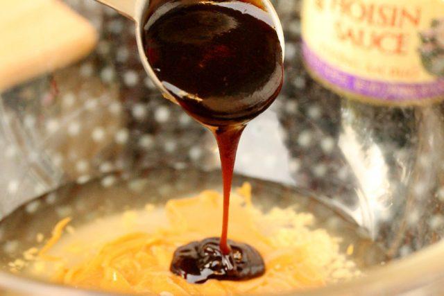 Add Hoisin Sauce in Bowl