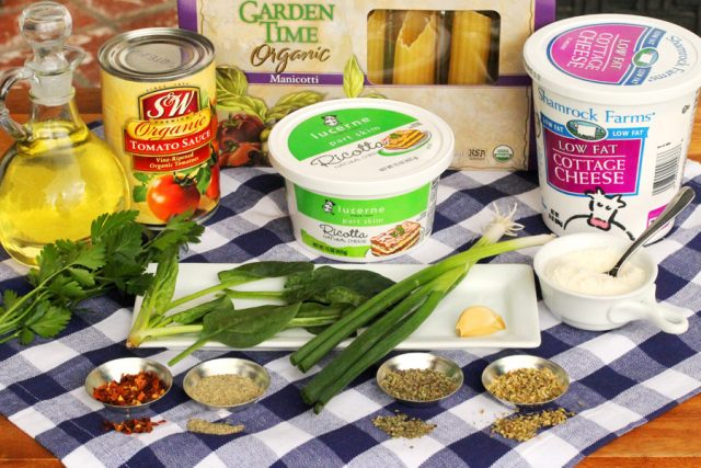 Sausage Manicotti Ingredients