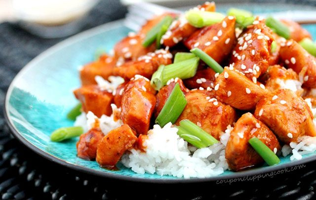 Sweet and Spicy Chicken