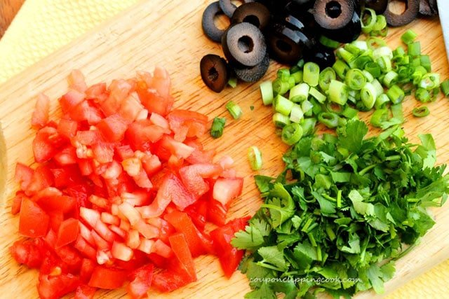 Chopped Tomato Cilantro Onion
