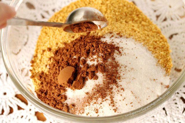 Add Cocoa Powder in Bowl