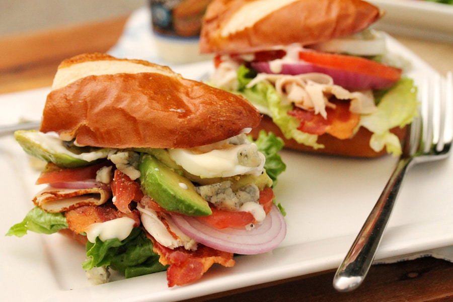 Turkey Cobb Salad Sandwich | Coupon Clipping Cook