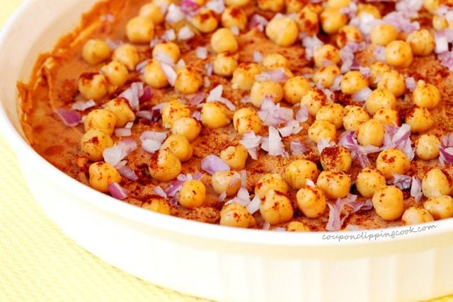 Garbanzo Beans in Bean Dip