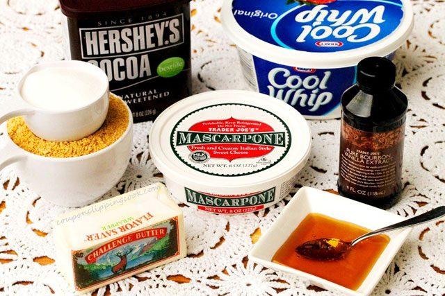 Mascarpone Dessert Ingredients