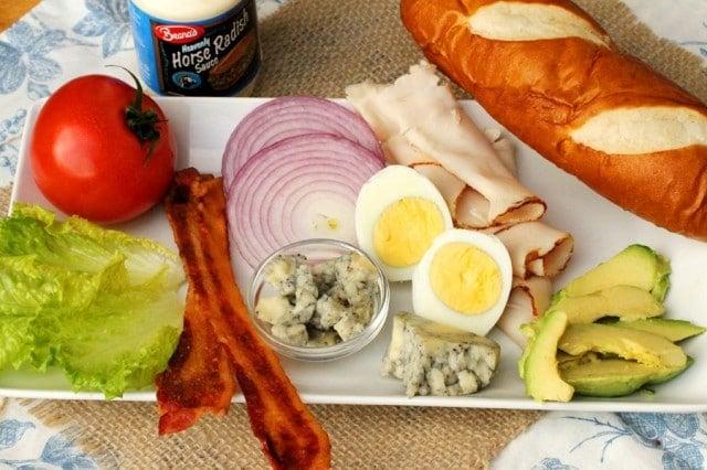 Cobb Salad Sandwich Ingredients