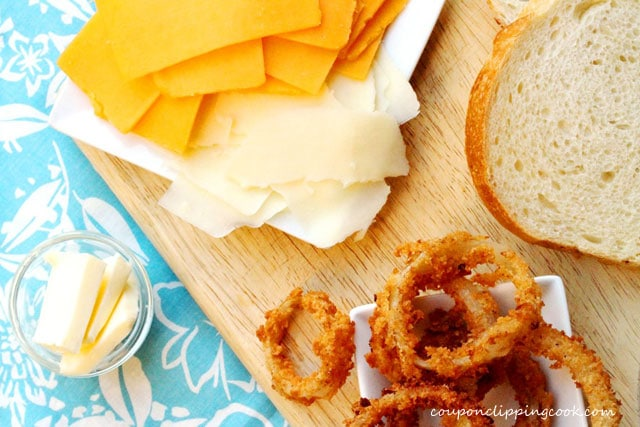 Browned Butter Grilled Cheese Ingredients