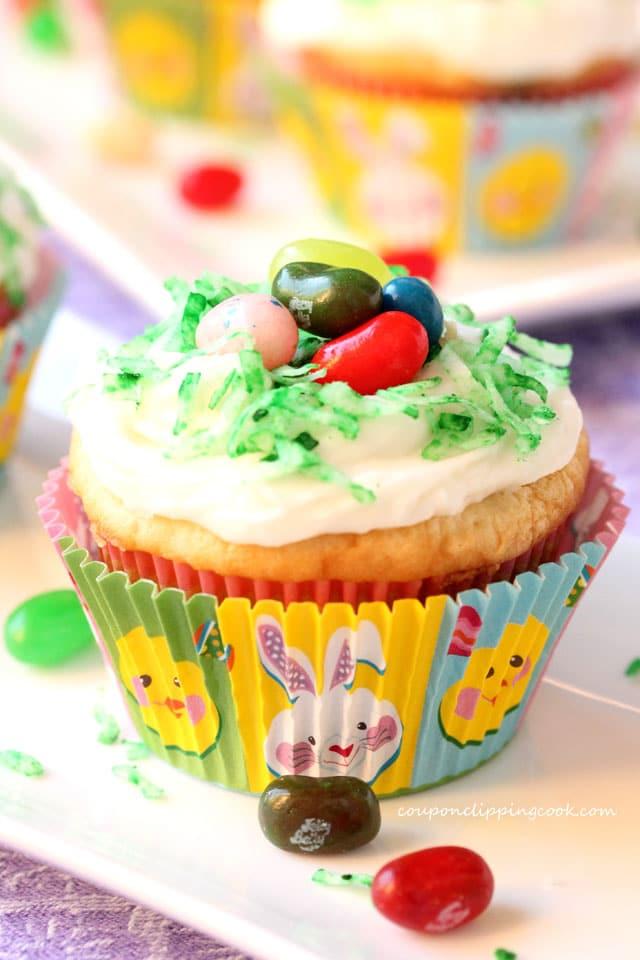 Jelly Bean Cupcakes