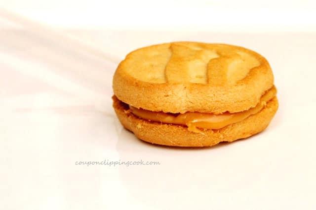 Caramel Filling in Cookies