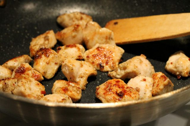 Cook Chicken in Pan
