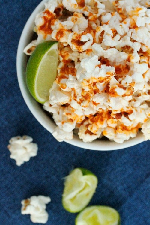 Lime and Spice Popcorn