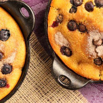 blueberry cinnamon corn bread