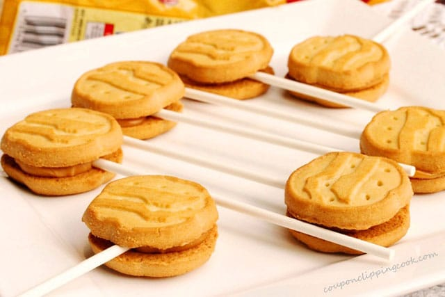 Girl Scout Cookies with Lollipop Sticks