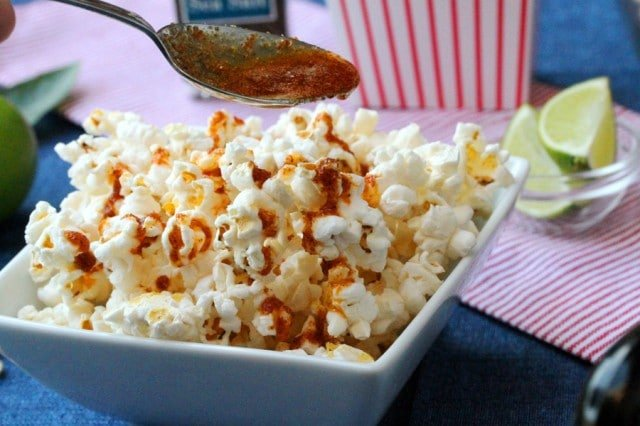 Spicy Butter on Popcorn