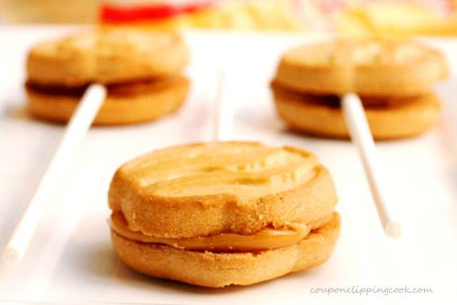 Caramel Filling in Cookies