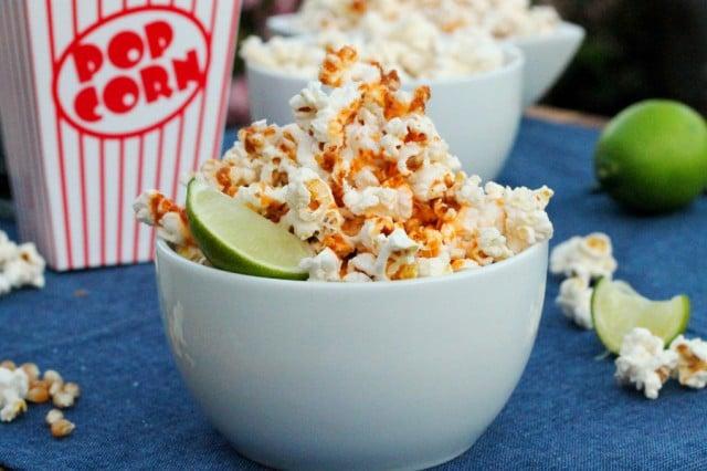 Spicy Lime Popcorn