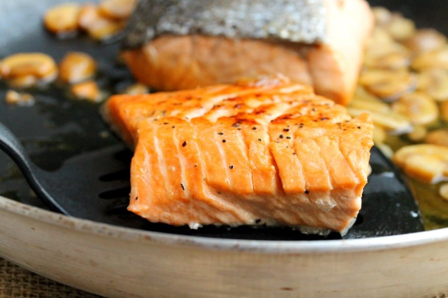 Salmon Cooked L...
